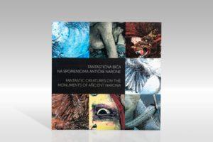 Katalog izložbe Fantastična bića na spomenicima antičke Narone