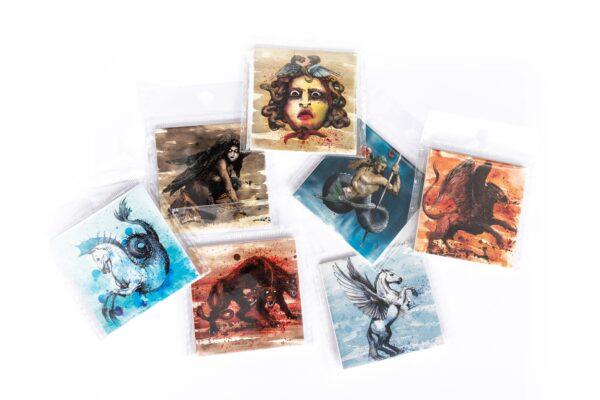 Magneti s motivima mitoloških bića