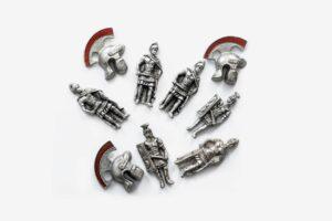 Magneti metalni rimski motivi