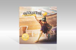 3D slikovnica Gladijatori (HR, EN, DE, IT)