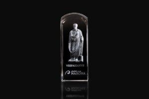 Stakleni držač papira Vespazijan
