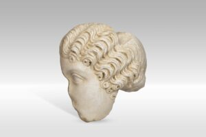 Ulomak glave Agripine Mlađe, akristal